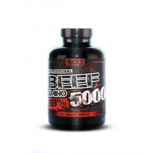 BEST Nutrition Amino Beef 5000, 250 tbl.
