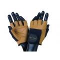 rukavice FITNESS  hnedé