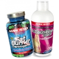 Fat Burner 90 cps + L-Carnitine Chromium ZADARMO