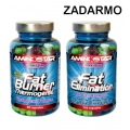 Fat Burner 90 cps + Fat Elimination 60 cps. ZADARMO