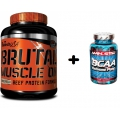 Brutal Muscle On 2270g. + BCAA 120 cps. ZADARMO