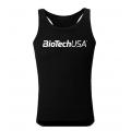 BioTechUSA pánske tielko - čierne (Tank Top)