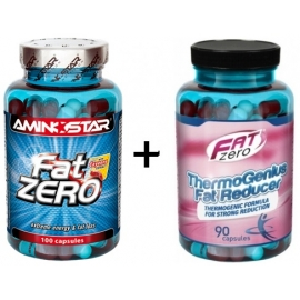 Fat Zero 100cp. + Thermogenius Fat Reducer 90cps. ZADARMO