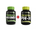 Tribulus Maximus 90tbl. + Creatine pH-X 90cps. ZADARMO