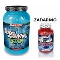100% Pure Whey Star + BCAA 120 cps. ZADARMO