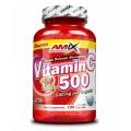 Vitamin C 500mg + Rose Hips 125 cps.