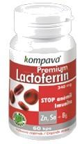 Kompava Premium Lactoferrin 60 cps.